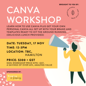 Canva Workshop - Hamilton