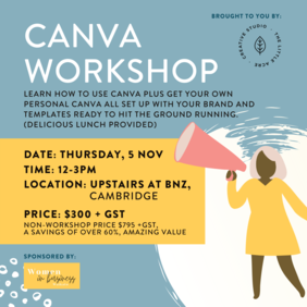 Canva Workshop - Cambridge